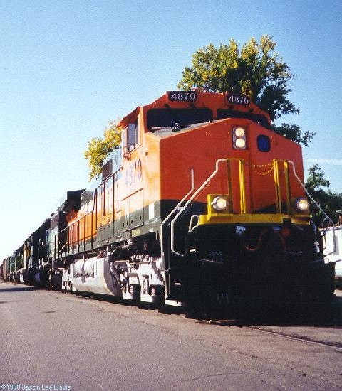Bnsf Ftcolco on Railroad Freight Car S