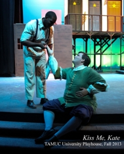 Kiss Me, Kate, TAMUC University Playhouse, Fall 2013
